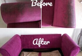 Sofa Cleaning - HEAVY STAINING Tunbridge wells